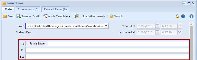 email recipient Workbooks 4.4: Released   10/01/2014