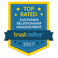 Trust Radius - Top Rated CRM 2016 Logo