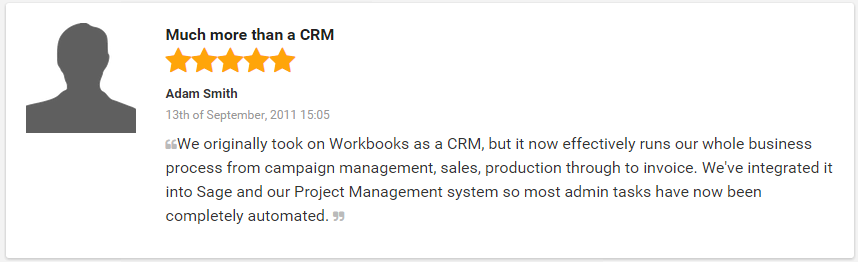 2015 07 29 1420 0 Workbooks explodes onto GetApps 'Top 25 CRM ranking'