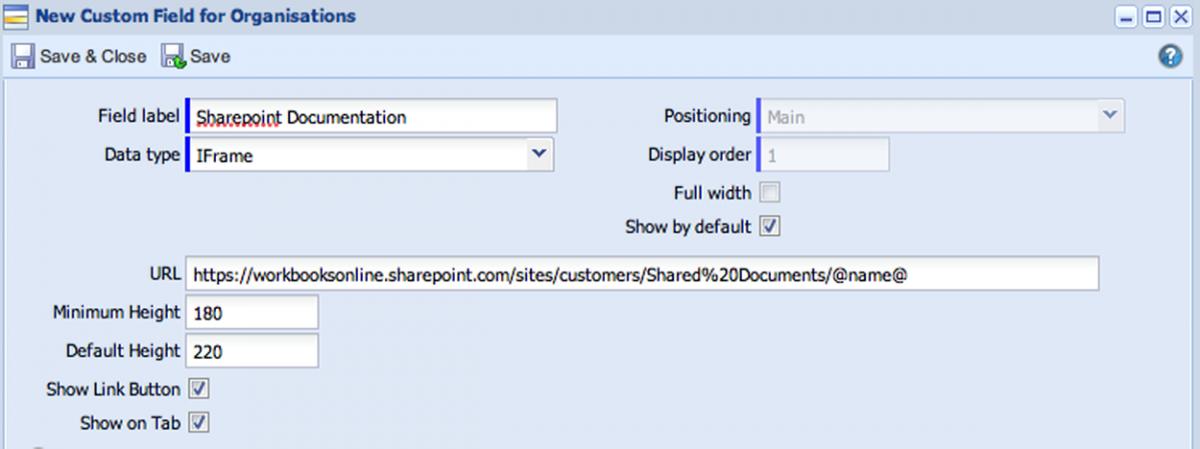 SharePoint Integration | Workbooks Support