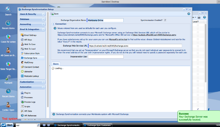 Setting up the WESS   Workbooks Support