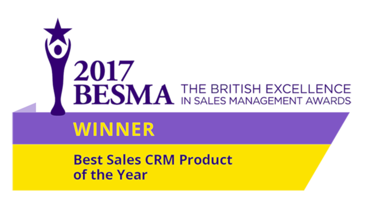 Best Sales CRM Product of the Year 2017