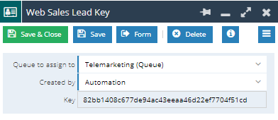 setting up a web2lead form workbooks crm