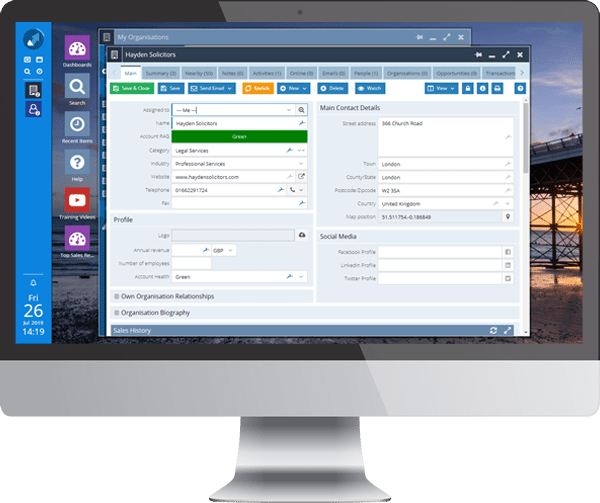 <Bring CRM data to life with Workbooks Mapping Module