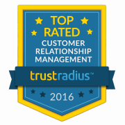 <Workbooks CRM named a 2016 Top Rated CRM Platform by Software Users on TrustRadius