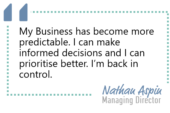 <Are you in control of your business?