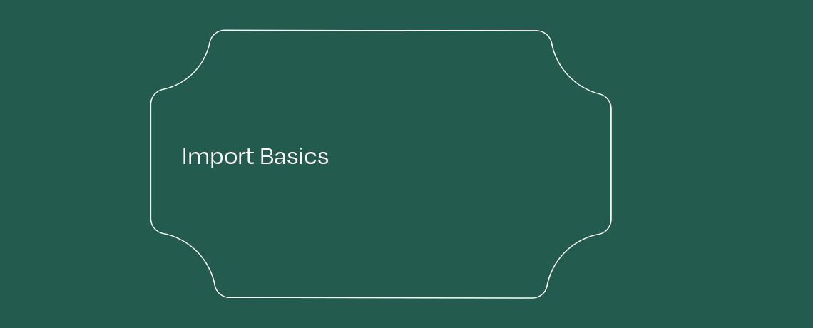 <Import Basics