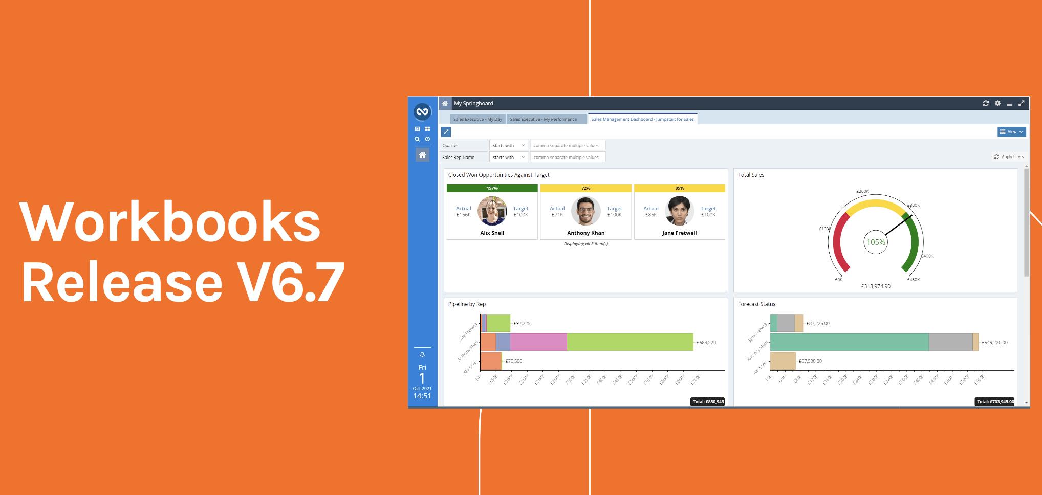 <Webinar: Product Release v6.7