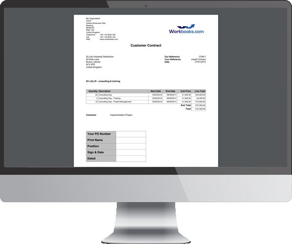 contract managment desktop