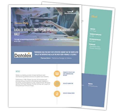 Datalex CRM Success Story