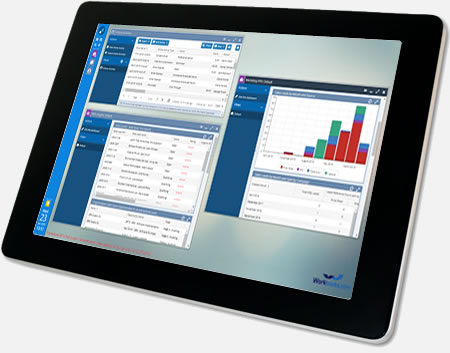 Tablet Screenshot of Workbooks CRM