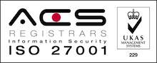 ISO 27001 - UKAS Logo