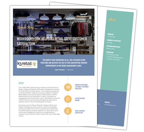K3 Retail CRM Success Story