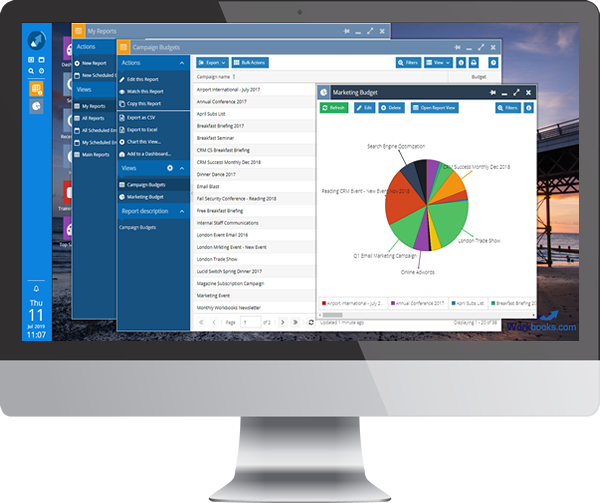 CRM for PO & Budget Management