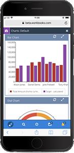 Screenshot of Workbooks CRM