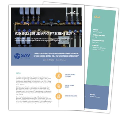 SAV Systems CRM Success Story